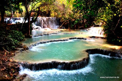 Kouang Si Wasserfälle