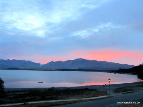 Lake Tekapo Sonnenaufgang
