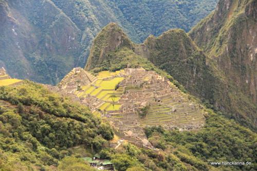 Machu Picchu vom Sungate aus