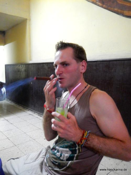 Kuba pur: Mojito & Zigarre :-)