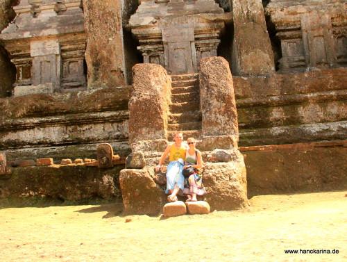 Stilecht im Luang Kawi Tempel