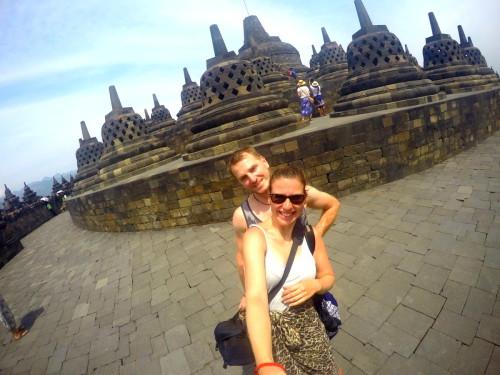 Borobudur, oberste Ebene