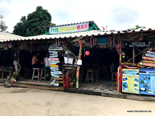 Chillige Bar in Phi Phi Village