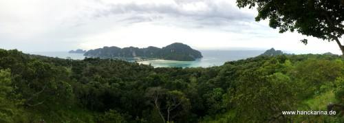 Koh Phi Phi vom Viewpoint 3